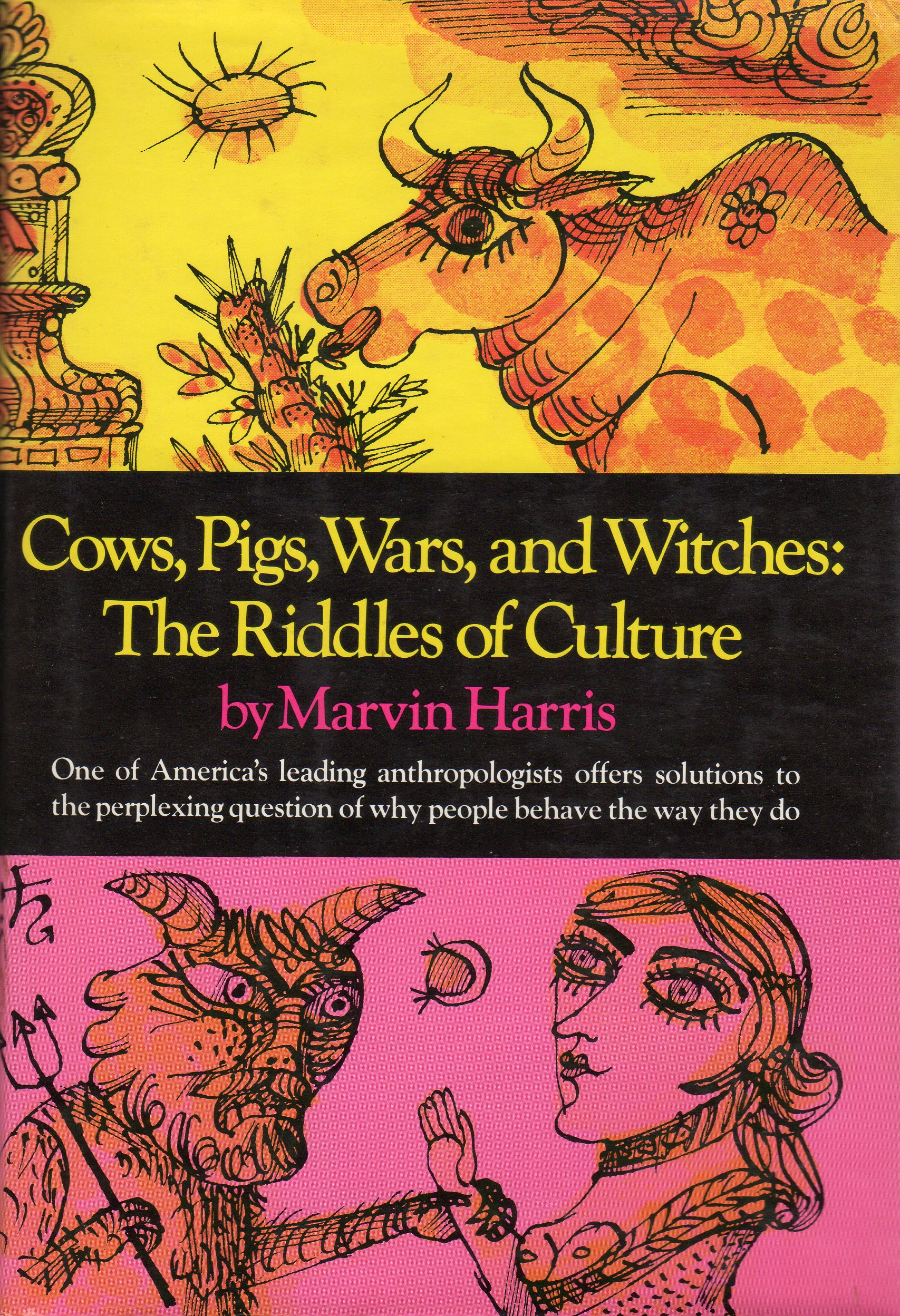 mother cow marvin harris Cows, pigs, wars, and witches: the riddles of culture [marvin harris] on amazoncom free shipping on qualifying offers one of america's leading anthropolgists.