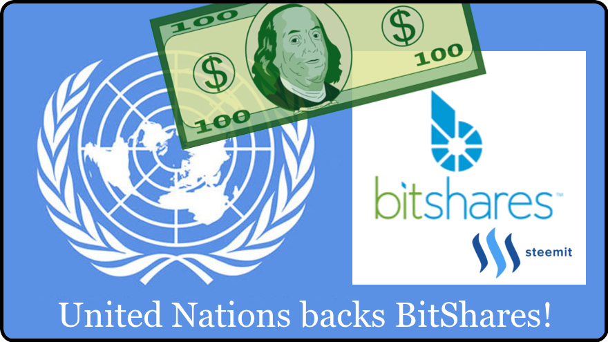 BitShares price through the roof by new year 2018 United Nations backs BitShares to help with previously inaccessible currencies steemit.com nandibear.com $10.00 USD or $100.00 USD